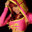Taeler Hendrix. US female wrestler. Has her outfits branded with her name.