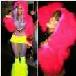 Nickin Minaj.. Loving Funki-B fluffy hooded shrugs
