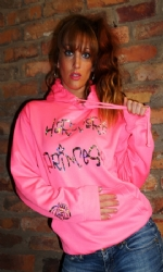 Full Jersey Hoody Pink