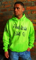 Full Jersey M Hoody Lime