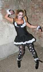 Gothic Ragdoll dress gloves