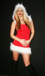Santa Hooded Dress RW