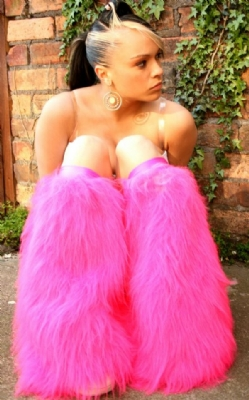 Hotpink Plain Fluffies