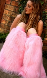 Candy Pink Plain Fluffies