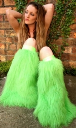 Lime Plain Fluffies
