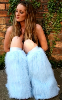 Baby Blue Plain Fluffies