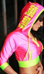 Pink/Yellow Tush Hoody