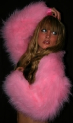 Lined fur shrug any colour