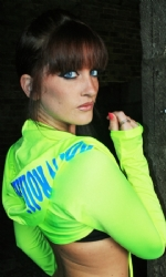 Hooded Shrug Neon Yellow