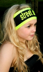 Headband Blk/Yell