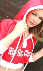 Red/White Tush Hoody