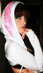 Hooded Shrug White