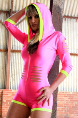Uluvit Hooded Slashed P/Y