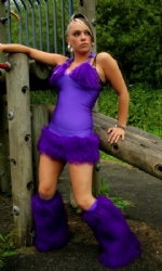 Oolala Dress 2pc Purple
